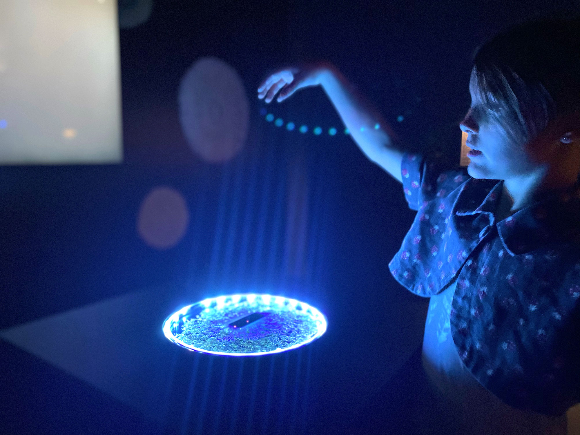 Sound for Fungi, installation at Experimenta Life Forms